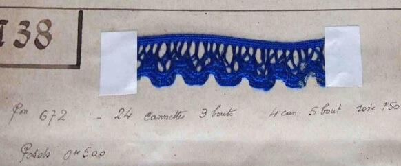Tresse- Collection historique Maison des tresses et lacets