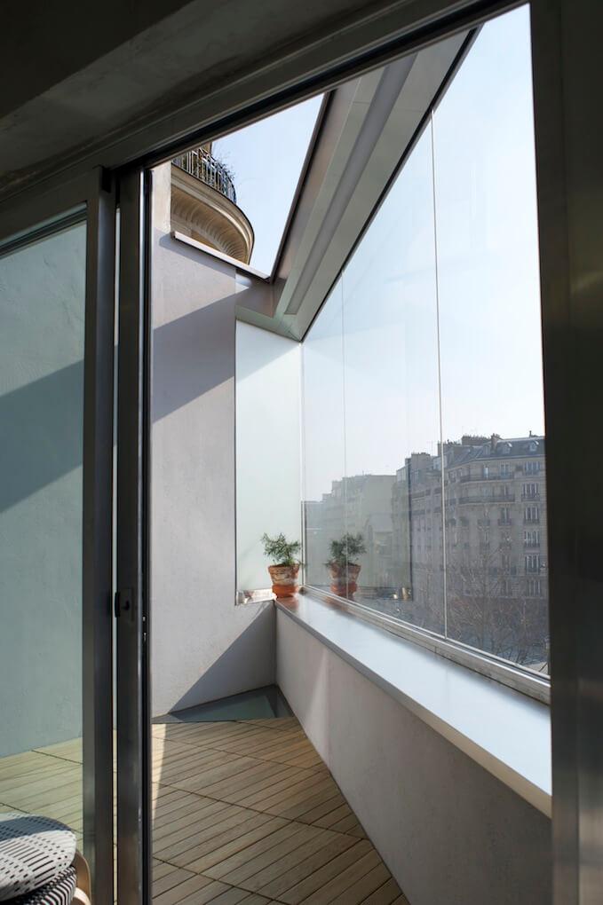 4 etage - Terrasse