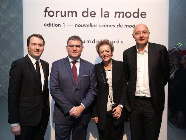 Pierre-François Le Louët, Christophe Sirugue, Lyne Cohen-Solal et Pascal Morand